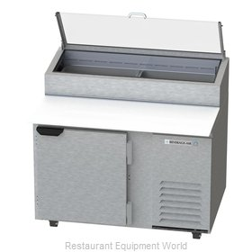 Beverage Air DP46HC-CL Refrigerated Counter, Pizza Prep Table