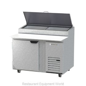 Beverage Air DP46HC Refrigerated Counter, Pizza Prep Table