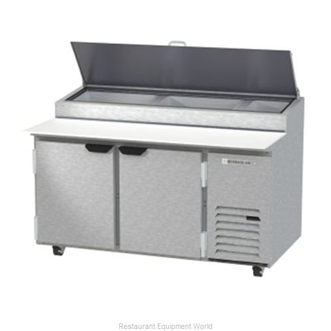 Beverage Air DP60HC Refrigerated Counter, Pizza Prep Table