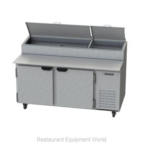 Beverage Air DP67 Refrigerated Counter, Pizza Prep Table