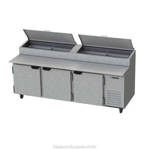 Beverage Air DP93 Pizza Prep Table Refrigerated