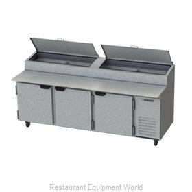 Beverage Air DP93 Refrigerated Counter, Pizza Prep Table