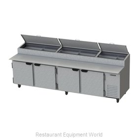 Beverage Air DPD119-2 Refrigerated Counter, Pizza Prep Table