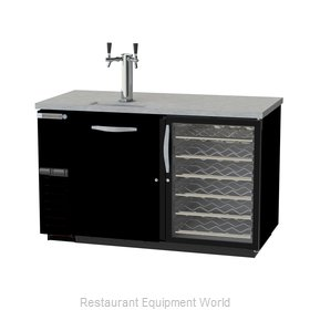 Beverage Air DZ58G-1-B-PWD-1 Draft Beer Cooler