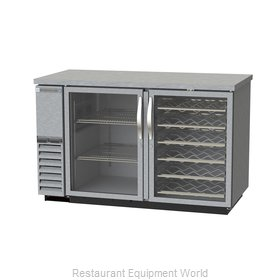 Beverage Air DZ58G-1-S-PWD Back Bar Cabinet, Refrigerated