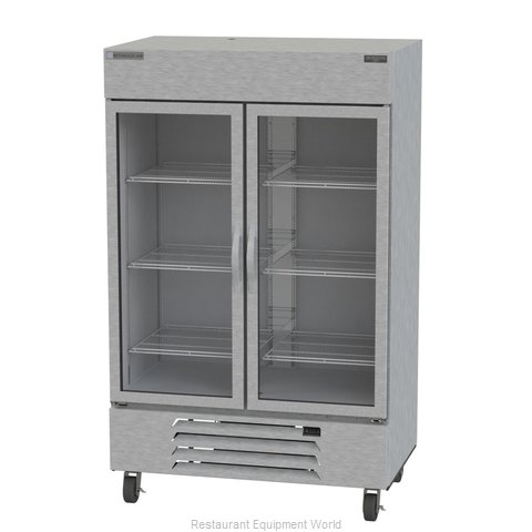 Beverage Air HBF49-1-G Freezer Reach-in (Magnified)