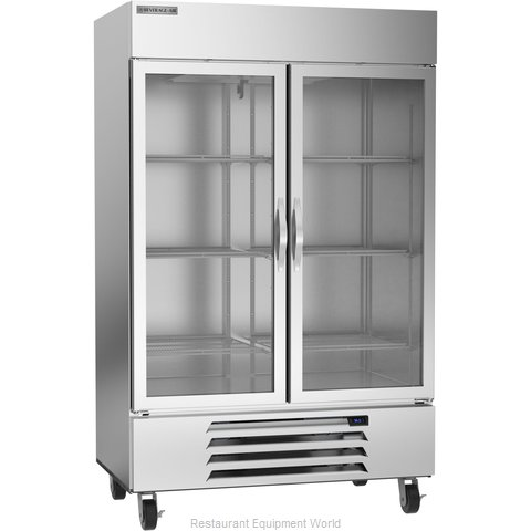 Beverage Air HBR49HC-1-G Refrigerator, Reach-In (Magnified)
