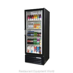 Beverage Air LV12-1-B-LED Refrigerator Merchandiser