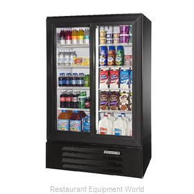 Beverage Air LV15-1-B-54-LED Refrigerator, Merchandiser