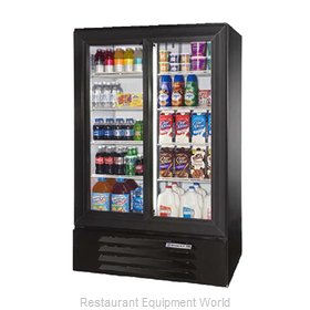 Beverage Air LV15-1-W-LED Refrigerator, Merchandiser