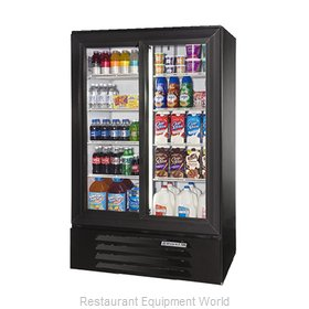 Beverage Air LV17-1-B-54-HD-LED Refrigerator, Merchandiser