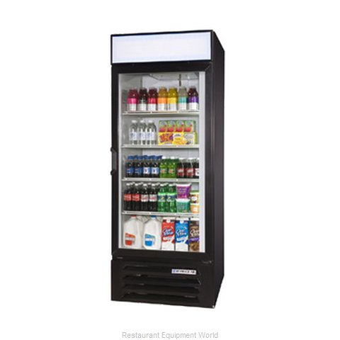 Beverage Air LV23-1-W-LED Refrigerator Merchandiser (Magnified)