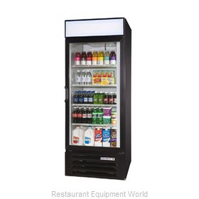 Beverage Air LV23-1-W-LED Refrigerator, Merchandiser