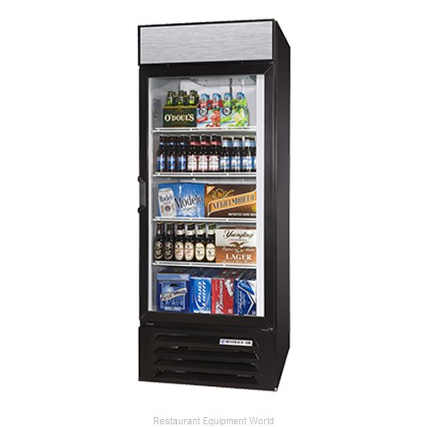 Beverage Air LV27-1-W-LED Refrigerator Merchandiser (Magnified)