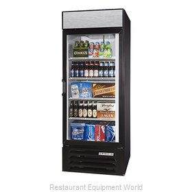 Beverage Air LV27-1-W-LED Refrigerator, Merchandiser