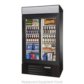 Beverage Air LV38-1-B-LED Refrigerator Merchandiser