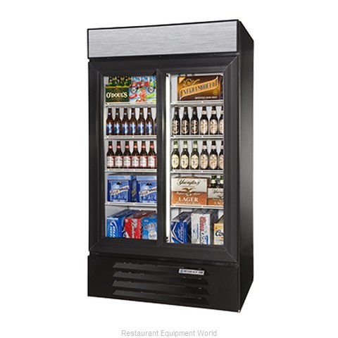 Beverage Air LV38-1-W-LED Refrigerator Merchandiser