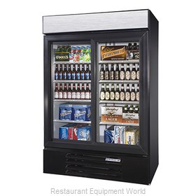 Beverage Air LV45-1-B-LED Refrigerator Merchandiser