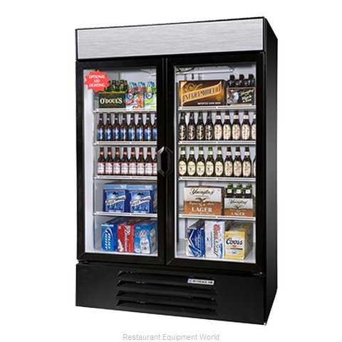 Beverage Air LV49-1-W-LED Refrigerator, Merchandiser (Magnified)