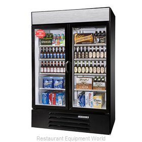 Beverage Air LV49HC-1-W-LED Refrigerator, Merchandiser