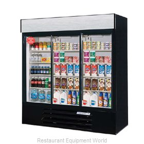 Beverage Air LV72Y-1-B-LED Refrigerator Merchandiser