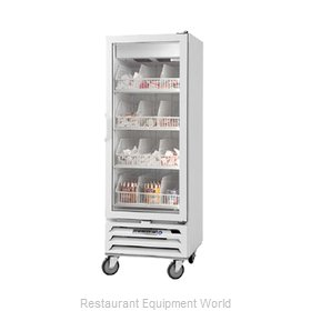 Beverage Air MMF12-1-W-LED Freezer, Merchandiser