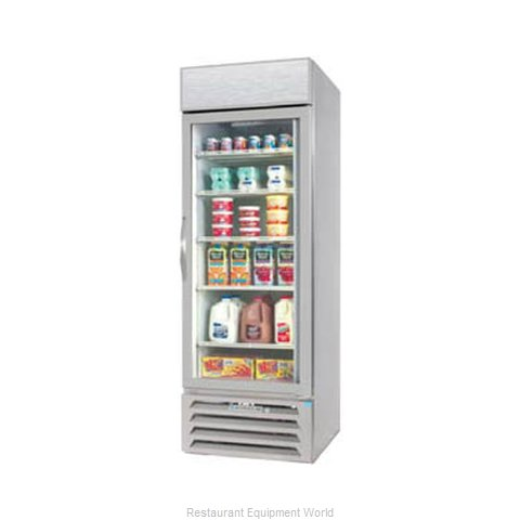 Beverage Air MMF23-1-W-LED Freezer, Merchandiser