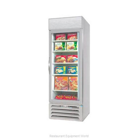 Beverage Air MMF27-1-W-LED Freezer Merchandiser