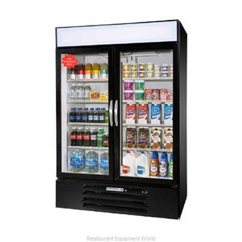Beverage Air MMF44-1-B-LED Freezer Merchandiser