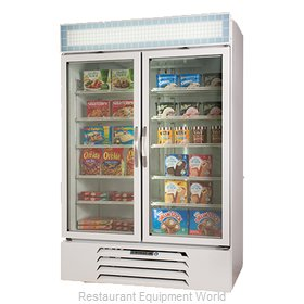 Beverage Air MMF44-1-W-EL Freezer, Merchandiser