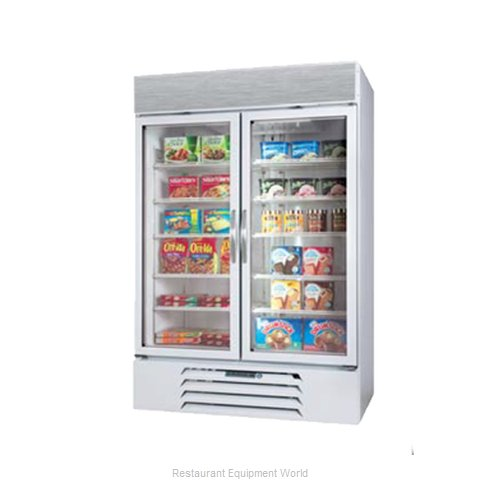 Beverage Air MMF44-W-LED Freezer Merchandiser (Magnified)