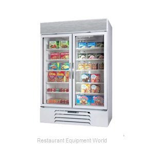 Beverage Air MMF44-W-LED Freezer Merchandiser