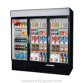 Beverage Air MMF72-5-B-LED Freezer, Merchandiser