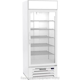 Beverage Air MMR27HC-1-W Refrigerator, Merchandiser