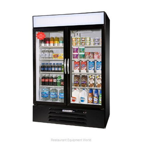 Beverage Air MMR44-1-B-LED Refrigerator Merchandiser