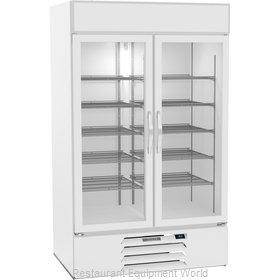 Beverage Air MMR44HC-1-W Refrigerator, Merchandiser