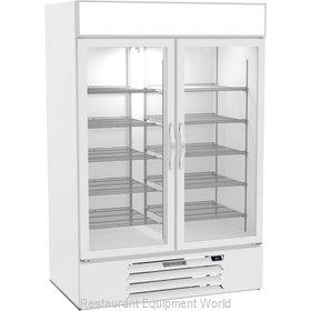 Beverage Air MMR49HC-1-W Refrigerator, Merchandiser