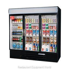 Beverage Air MMR72-1-B-LED Refrigerator Merchandiser
