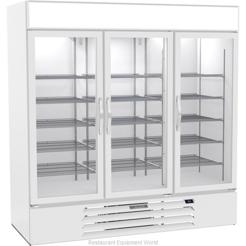 Beverage Air MMR72HC-1-W Refrigerator, Merchandiser