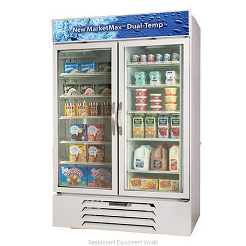Beverage Air MMRF49-1-W-LED Refrigerator Freezer, Reach-In (Magnified)