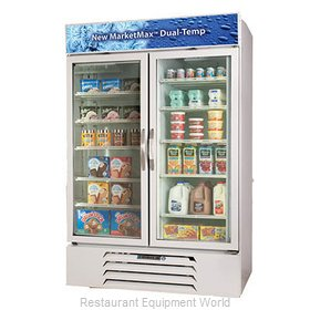 Beverage Air MMRF49-1-W-LED Refrigerator Freezer, Reach-In