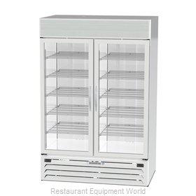 Beverage Air MMRF49HC-1-A-WW Refrigerator Freezer Merchandiser