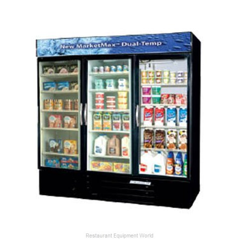 Beverage Air MMRF72-1-W-LED Refrigerator Freezer, Reach-In