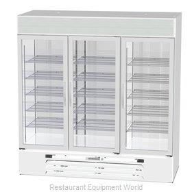 Beverage Air MMRF72HC-1-B-WW Refrigerator Freezer Merchandiser