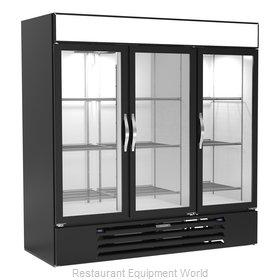 Beverage Air MMRF72HC-1-C-BW Refrigerator Freezer Merchandiser