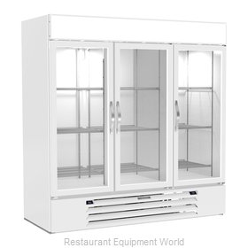 Beverage Air MMRF72HC-1-C-WW Refrigerator Freezer Merchandiser