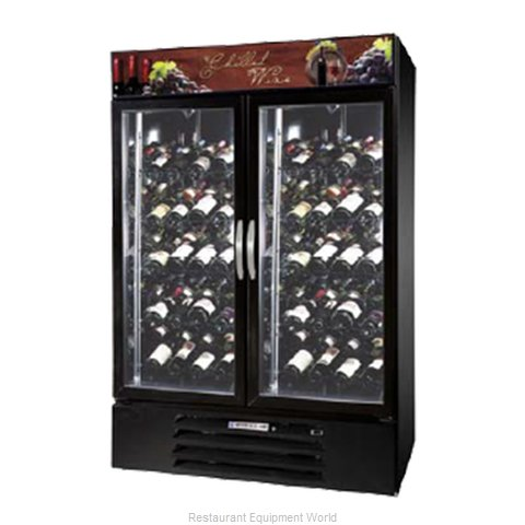 Beverage Air MMRR49-1-B-LED Refrigerator, Wine, Reach-In