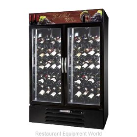 Beverage Air MMRR49-1-B-LED Refrigerator Wine Reach-In