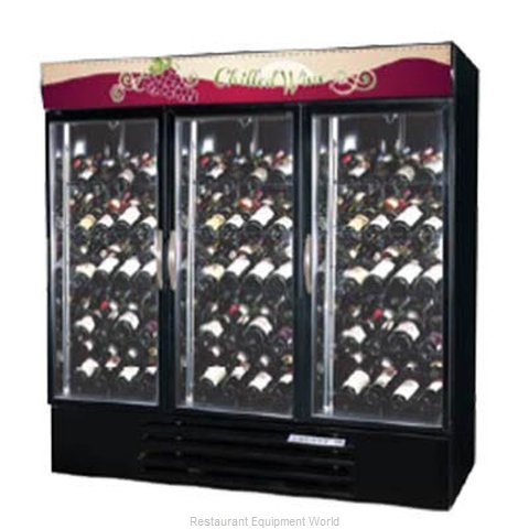 Beverage Air MMRR72-1-BW-A-LED Refrigerator, Wine, Reach-In