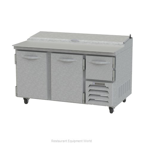 Beverage Air RRP60 Refrigerated Counter, Pizza Prep Table